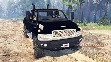 GMC TopKick C4500 6x6 para Spin Tires