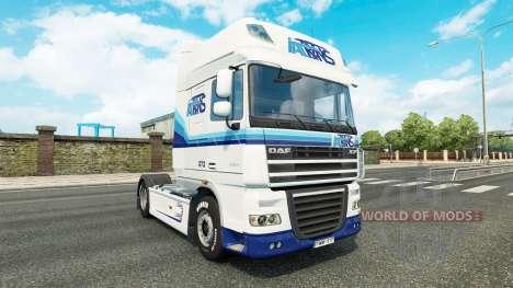 Italtrans de la piel para DAF camión para Euro Truck Simulator 2