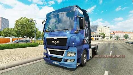 Piel Efecto de Masa para tractor HOMBRE para Euro Truck Simulator 2