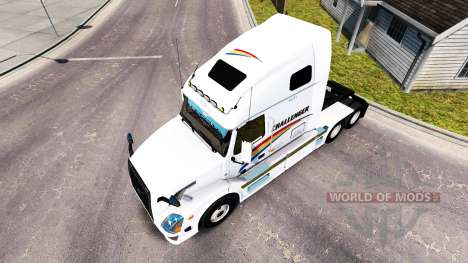 La piel en el Challenger de tractor Volvo VNL 67 para American Truck Simulator