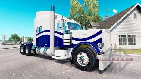 La piel Personalizado 9 para el camión Peterbilt para American Truck Simulator