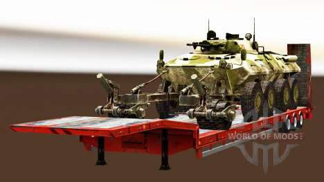 Semi llevar equipo militar v1.4 para Euro Truck Simulator 2