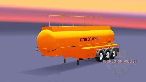 Tanque semi-remolque BCM-35 para Euro Truck Simulator 2