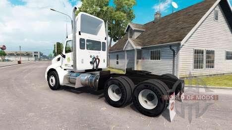 La piel de Alimentos de los estados unidos camió para American Truck Simulator