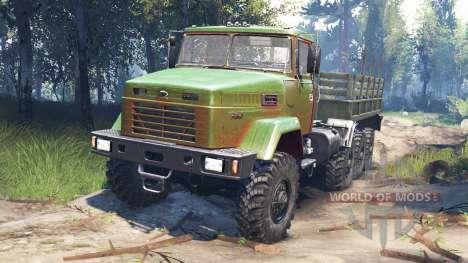 KrAZ-7140 v3.0 para Spin Tires