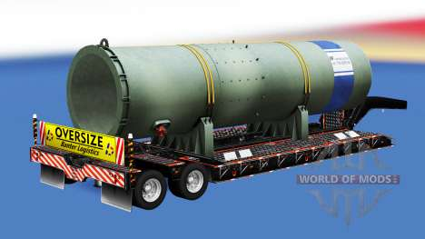 De gran tamaño fundamental con diferentes cargas para American Truck Simulator