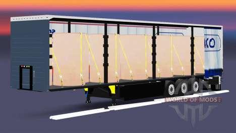 Cortina semi-remolque Schmitz Cargobull para Euro Truck Simulator 2