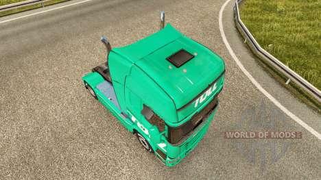 Peaje de la piel para Scania camión para Euro Truck Simulator 2