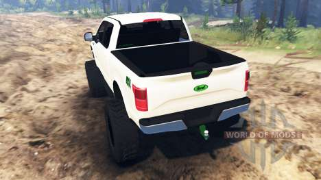 Ford F-150 [zombie edition] para Spin Tires