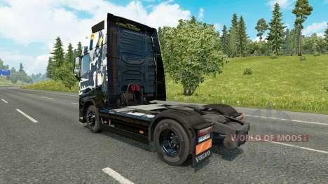 La piel de Infamous Second son para camiones Vol para Euro Truck Simulator 2