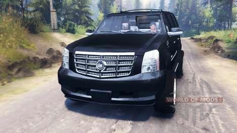 Cadillac Escalade para Spin Tires