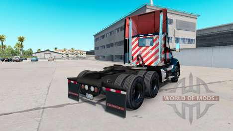 Skin Bitdefender tractor Kenworth para American Truck Simulator