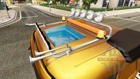 Barra De Luces, Volvo para Euro Truck Simulator 2