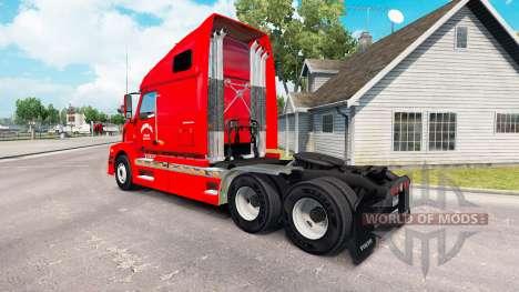 La piel jonrón para el camión de Volvo VNL 670 para American Truck Simulator