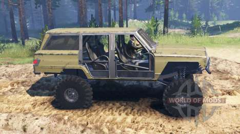 Jeep Wagoneer 1978 [without doors] para Spin Tires