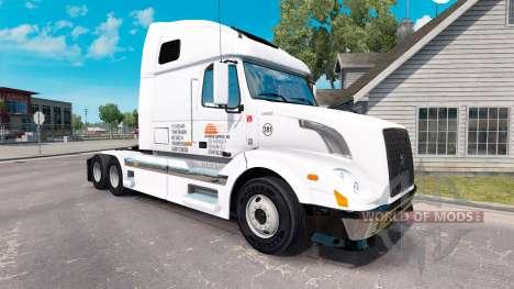 Daybreak Express de la piel para camiones Volvo  para American Truck Simulator
