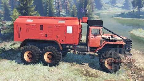 Ural-4320 Polar Explorer v8.0 para Spin Tires