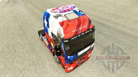 El Chile de Copa 2014 de la piel para Iveco trac para Euro Truck Simulator 2