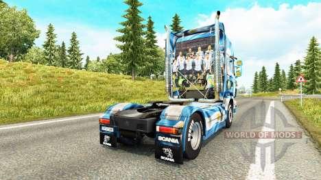 La Argentina de Copa 2014 de la piel para Scania para Euro Truck Simulator 2