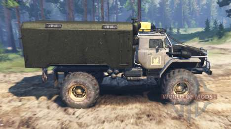 Ural-43206 [el huracán] para Spin Tires