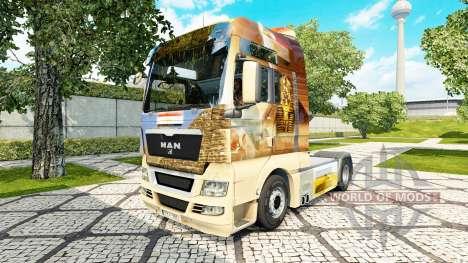 Egipto piel para HOMBRE camión para Euro Truck Simulator 2