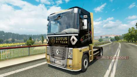 F1 Lotus piel para Renault camión para Euro Truck Simulator 2
