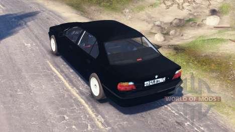 BMW 750Li (E38) v2.0 para Spin Tires