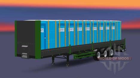 Plataforma semi-remolque Kogel para Euro Truck Simulator 2