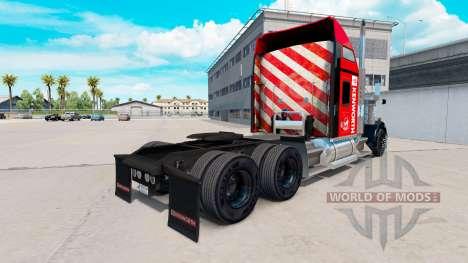 La piel en el Sureste de camión Kenworth W900 para American Truck Simulator