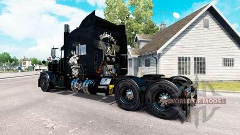 Motorhead piel para el camión Peterbilt 389 para American Truck Simulator