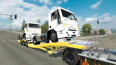 Baja de barrido con Ford camiones de Carga para Euro Truck Simulator 2