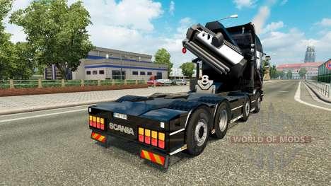 Chassis 8x4 Scania v1.1 para Euro Truck Simulator 2