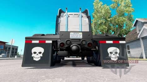 Una colección de skins para el guardabarros para American Truck Simulator