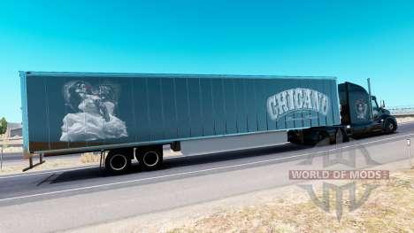 Chicano de la piel para el camión Peterbilt para American Truck Simulator