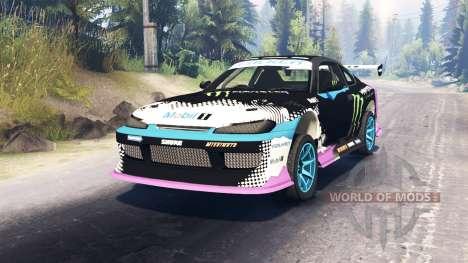 Nissan Silvia S15 Drift para Spin Tires