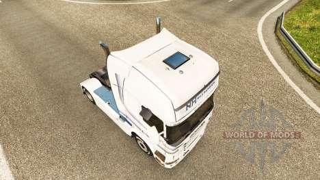Nils Hansson piel para Scania camión para Euro Truck Simulator 2