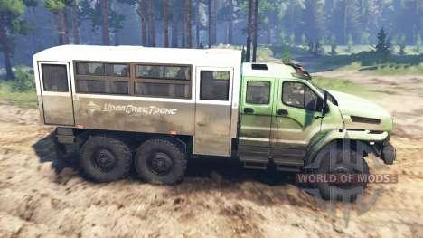 De Los Urales-4320-6951-74 2015 [Ural Siguiente] para Spin Tires