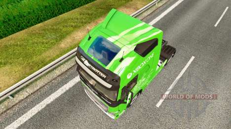 Xbox One de la piel para camiones Volvo para Euro Truck Simulator 2
