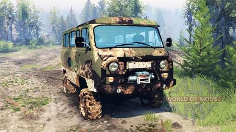 UAZ-2206 v6.0 para Spin Tires
