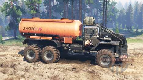 Ural-4320 [grizzly] para Spin Tires