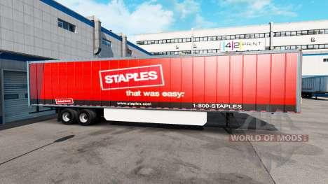 Grapas De Piel Inc. en el trailer para American Truck Simulator