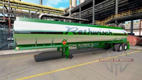 La piel Rethwisch de Transporte en semi-remolque para American Truck Simulator