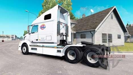 Piel de NAPA en el tractor Volvo VNL 670 para American Truck Simulator