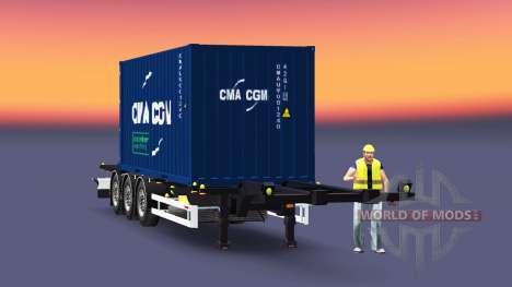 Semi-contenedor Sommer para Euro Truck Simulator 2