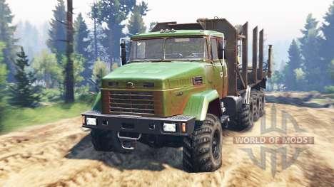 KrAZ-7140 v2.0 para Spin Tires