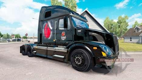 El veneno de la Energía de la piel para camiones para American Truck Simulator