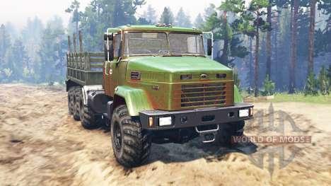 Kraz-7140 para Spin Tires