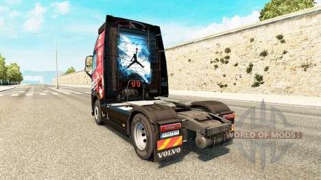 MJBulls de la piel para camiones Volvo para Euro Truck Simulator 2