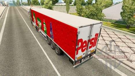 La piel de Persil en el remolque para Euro Truck Simulator 2