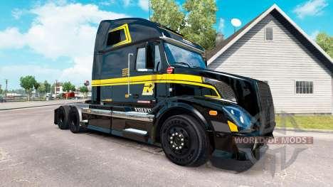 La piel en Groupe Robert camión Volvo VNL 670 para American Truck Simulator